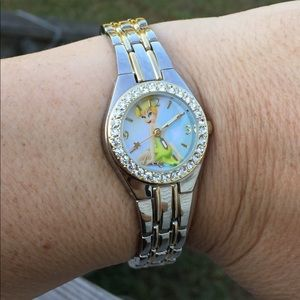 Tinker Bell Disney Watch with crystal accents